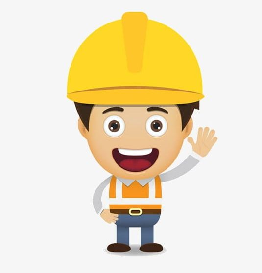 Construction Worker PNG, Clipart, Cartoon, Character.