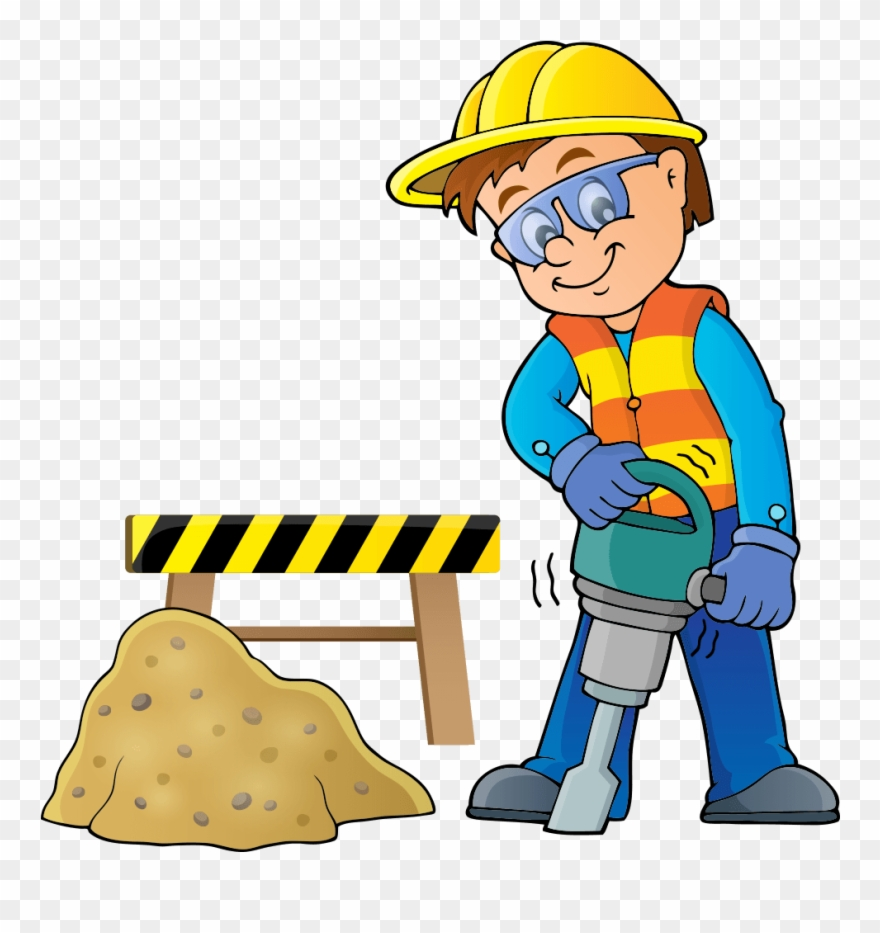 Construction Worker Clipart.
