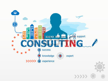 Management Consulting Clipart.