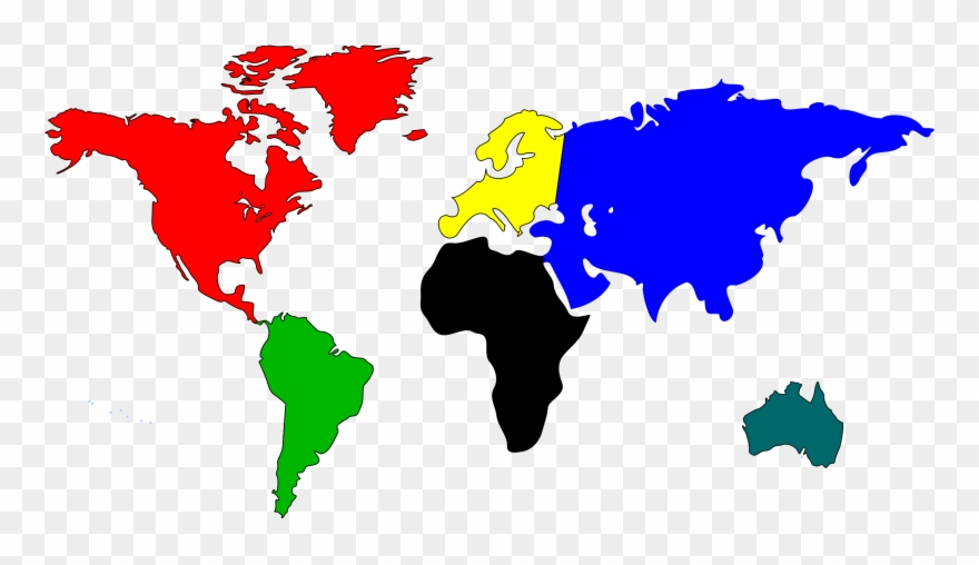 World Map Clip Art Free Clipart Images.