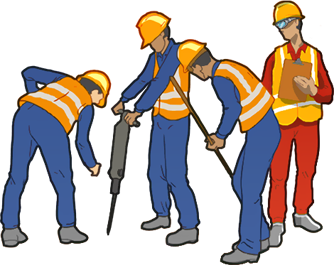 Contractor clipart construction team, Contractor.