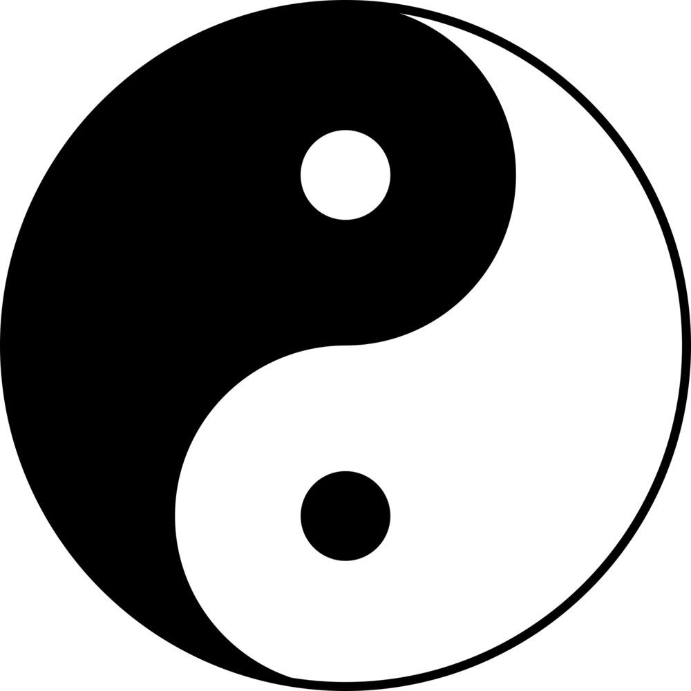 Unbalanced yin.