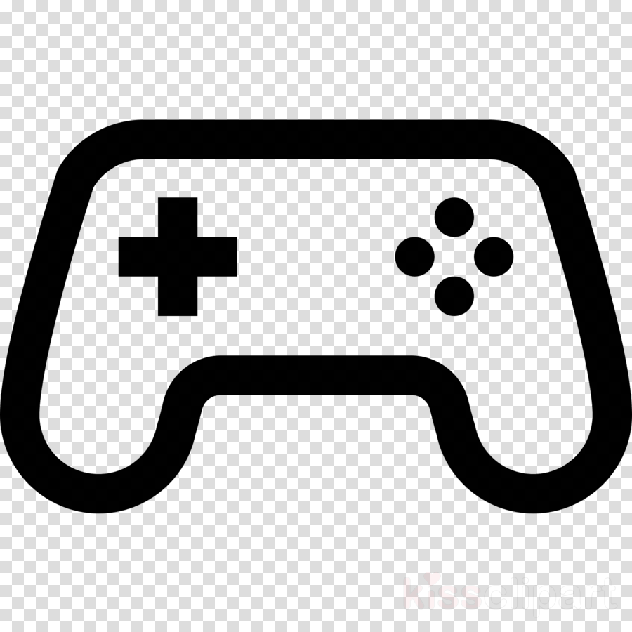 game controller line technology electronic device clip art.