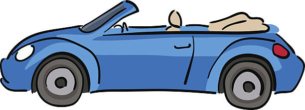 Convertible car clipart » Clipart Station.