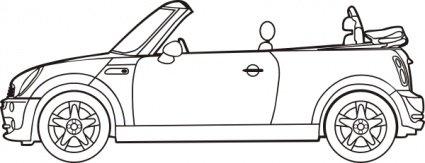 Car clipart convertible, Car convertible Transparent FREE.