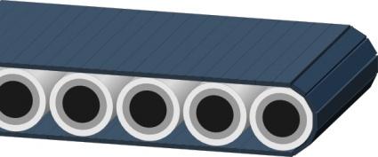 Conveyor Belt clip art free vector.