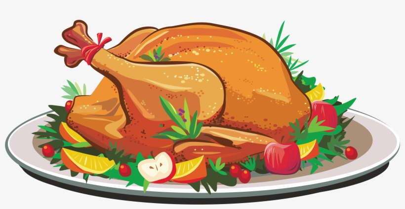 Roast Clipart Cooked Duck.