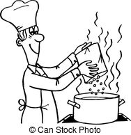 Free Cooking Black And White Clipart, Download Free Clip Art.
