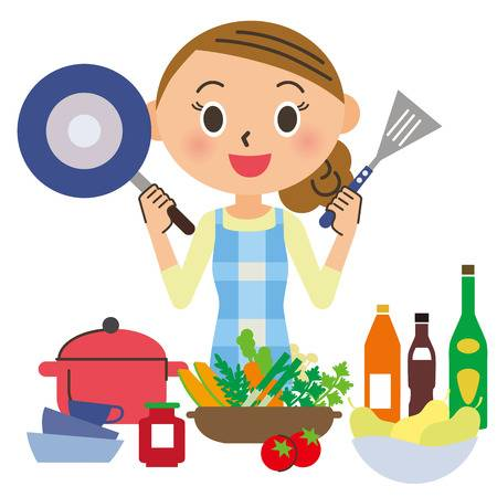 Cooking class clipart 3 » Clipart Station.