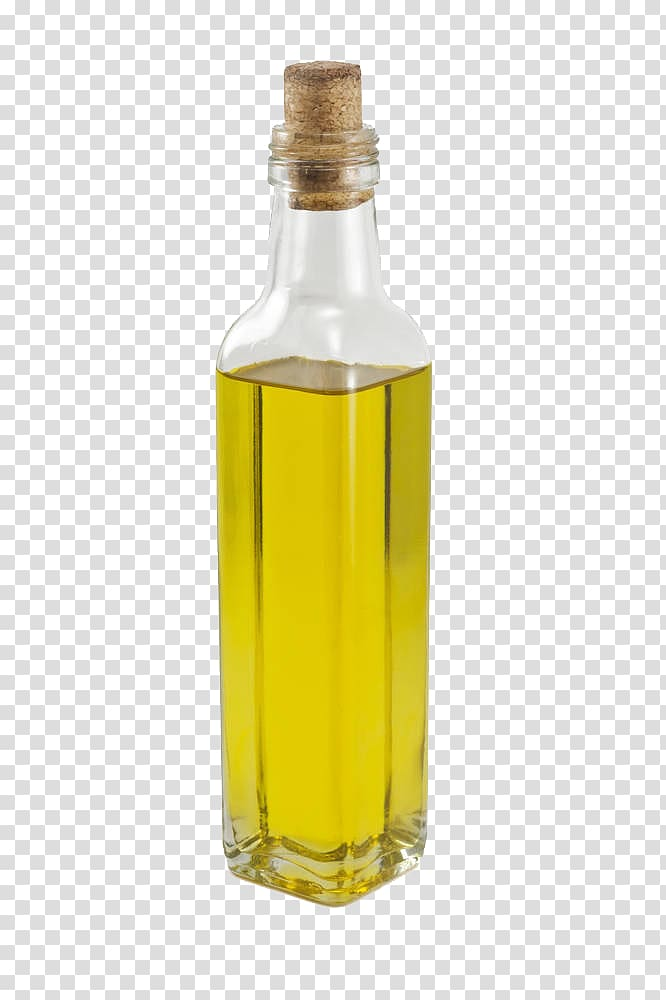 Soybean oil Bottle Cooking oil Vegetable oil, The oil in the.