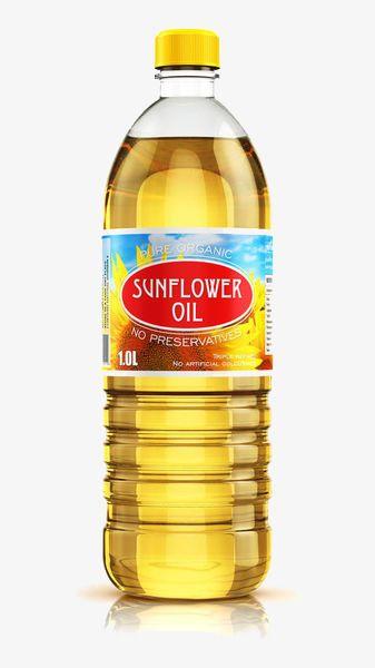The Sunflower Oil In The Bottle.