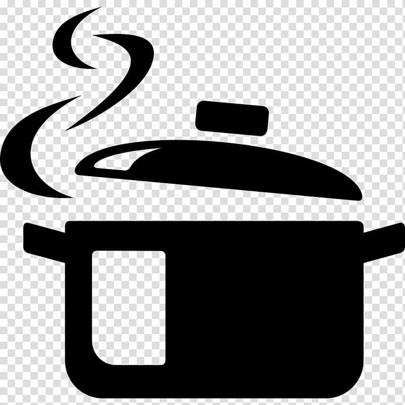 Black cooking pot illustration, Computer Icons Cooking.
