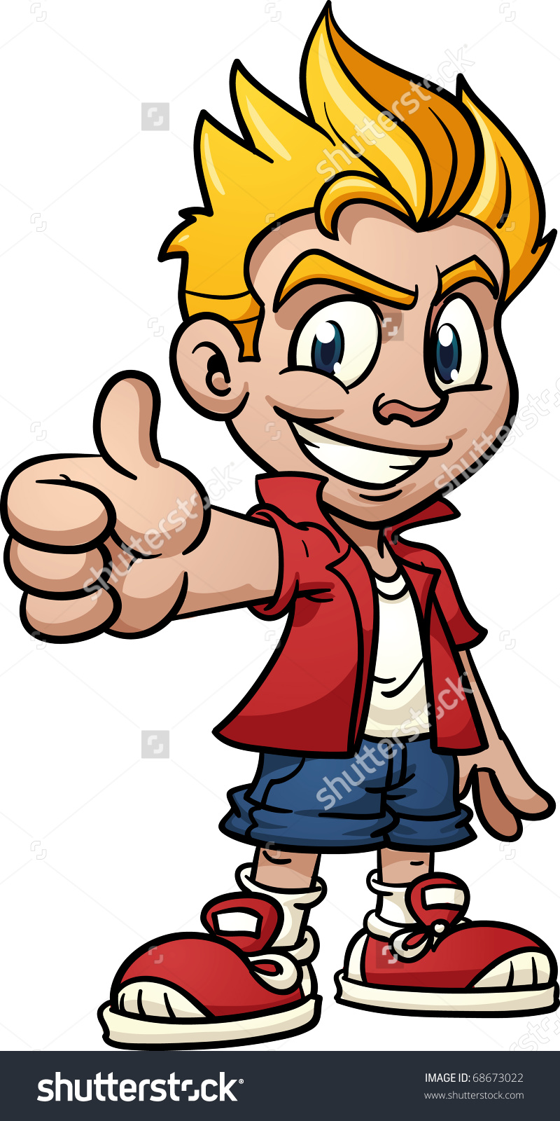 Cool kid clipart 8 » Clipart Station.