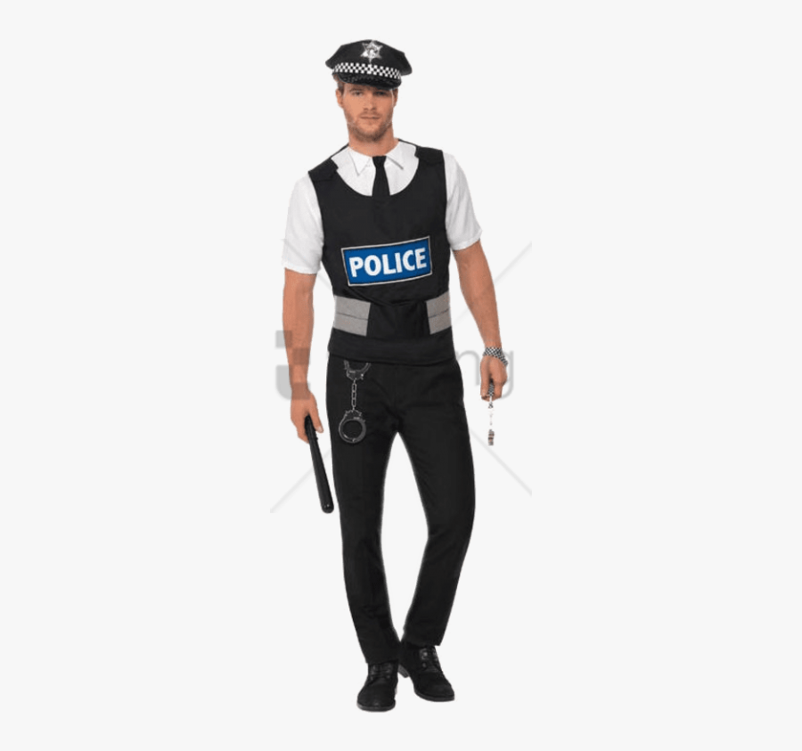Police Officer Clipart Transparent Background.