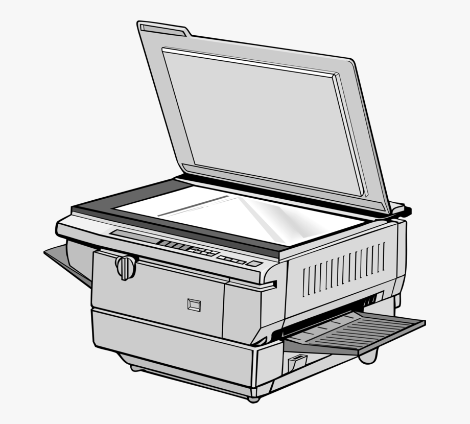 Machine Clipart Copier.