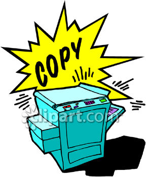 Copy and copies clipart image.