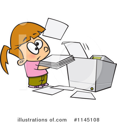 Copier Clipart #1127606.