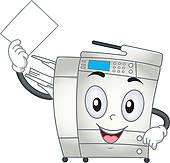 Copy machine clipart 4 » Clipart Station.