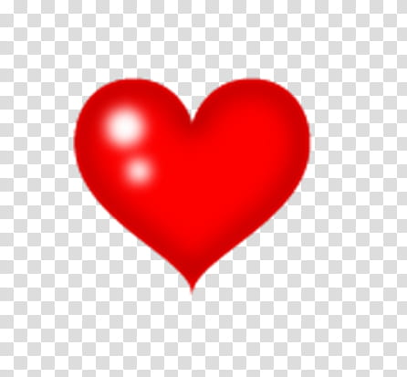 Corazones ParaTutoriales, red heart transparent background.