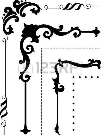 45,470 Corner Border Cliparts, Stock Vector And Royalty Free.
