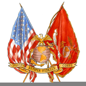 Flag Corp Clipart.