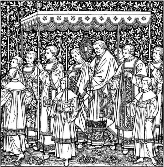 Corpus Christi Eucharistic Procession.