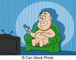 Couch potato Illustrations and Clip Art. 96 Couch potato royalty.