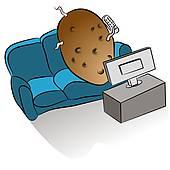 Couch Potato Clip Art.