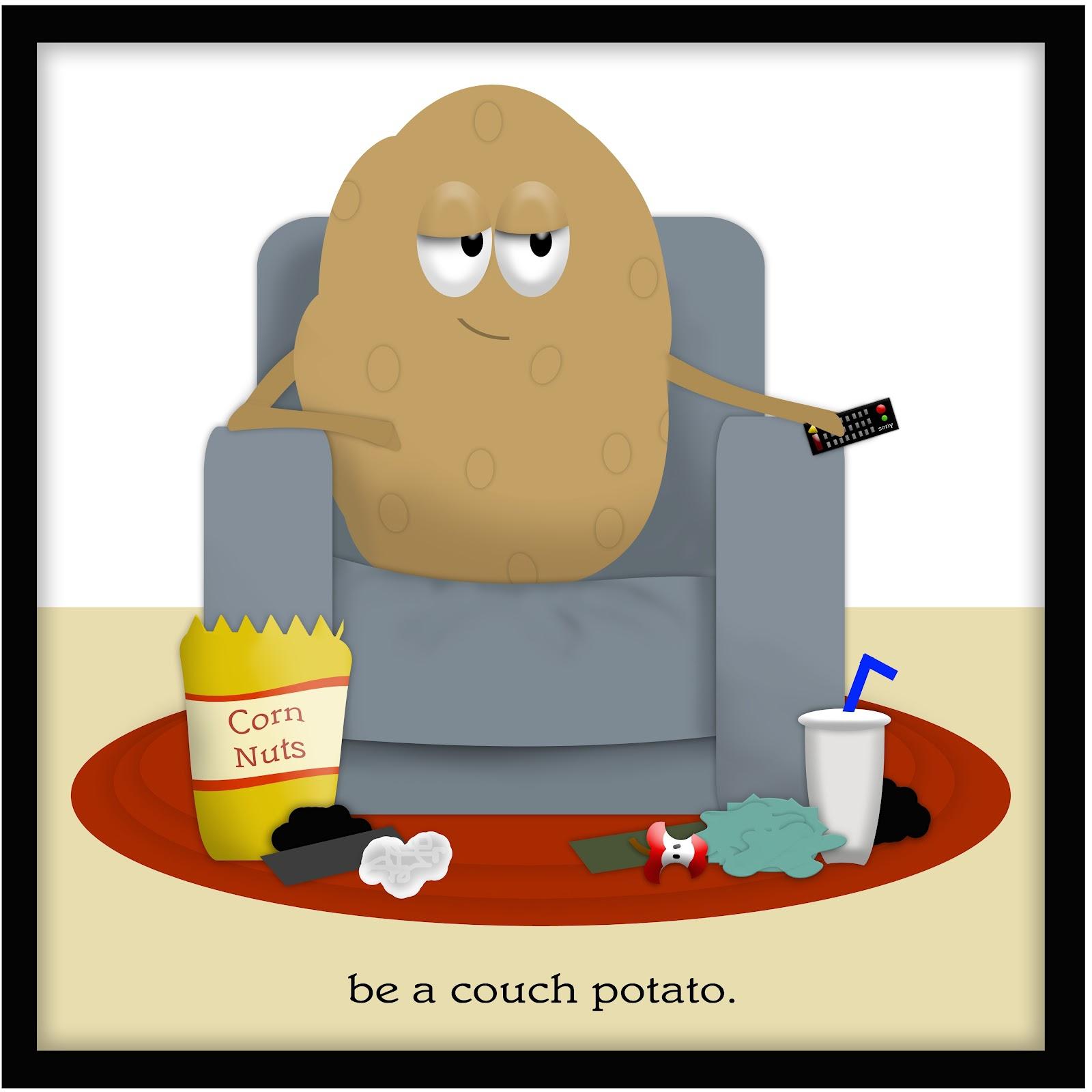 Couch Potato Clipart#2235622.