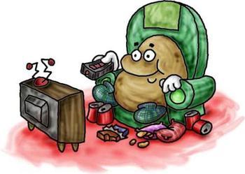 Couch Potato Clipart Free.