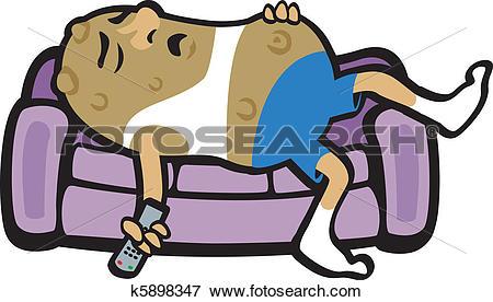 Couch potato Clipart and Illustration. 80 couch potato clip art.