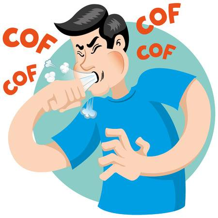 5,003 Cough Cliparts, Stock Vector And Royalty Free Cough Illustrations.