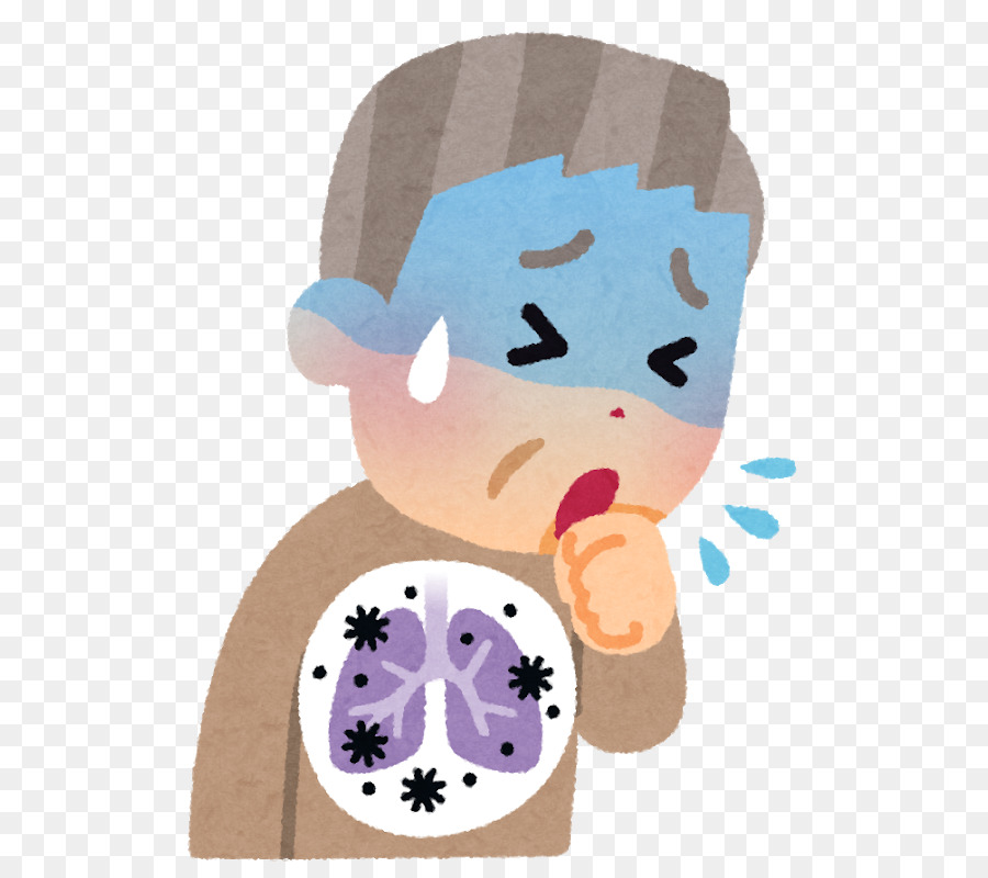 coughing with invisible background clipart Therapy Cough Pneumonia.
