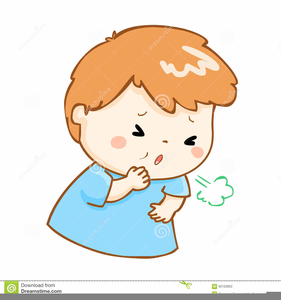 Animated Clipart Coughing.