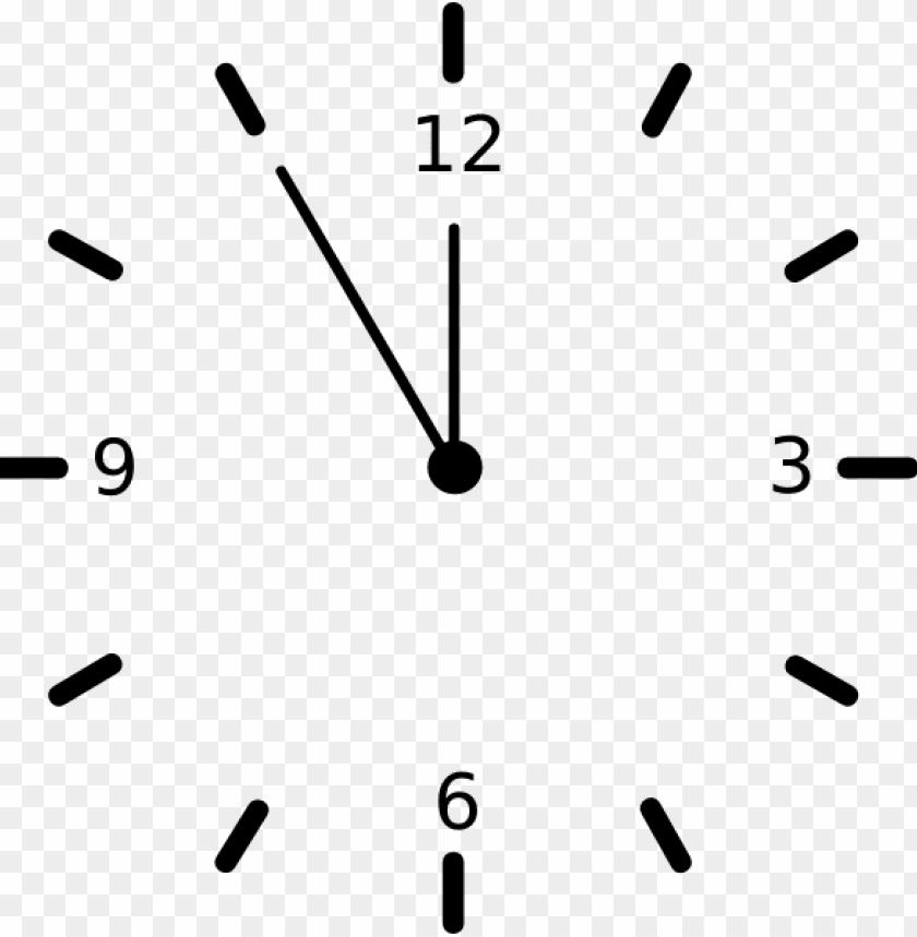 clock clip art free vector.