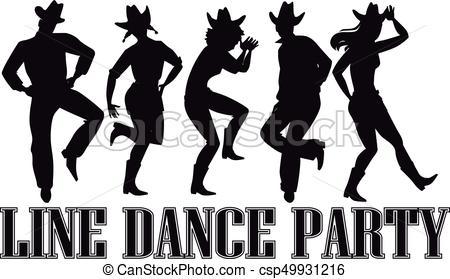 Line dance clip.