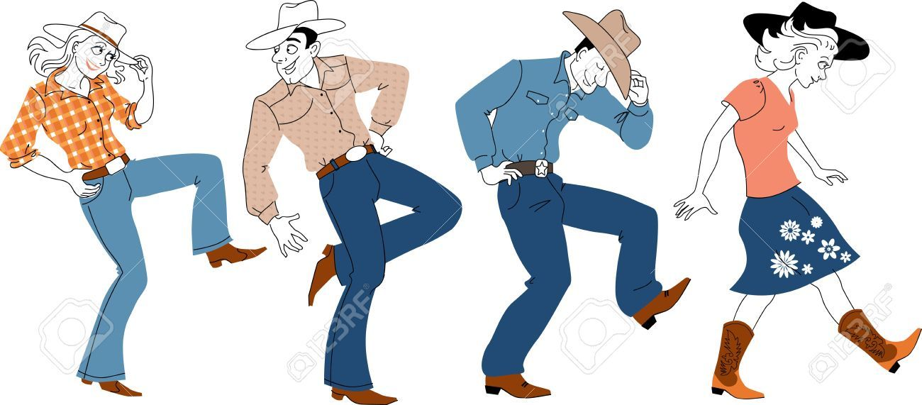 Image result for square dance clipart.
