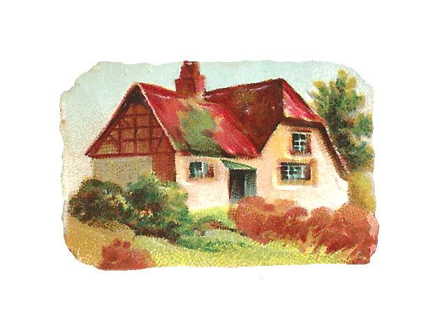 Clipart little country house.