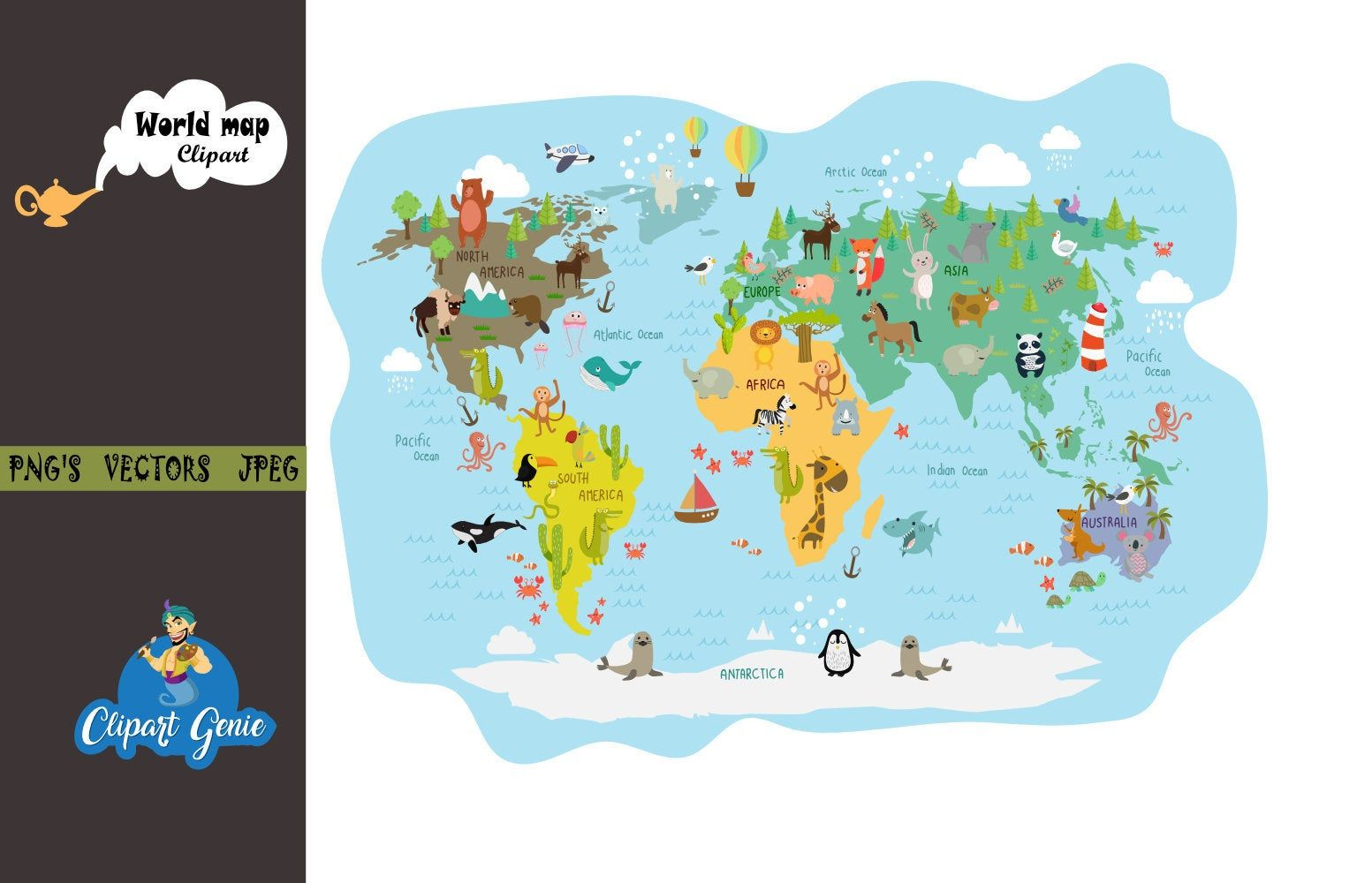 world map clipart, world map clipart, map clipart, school.