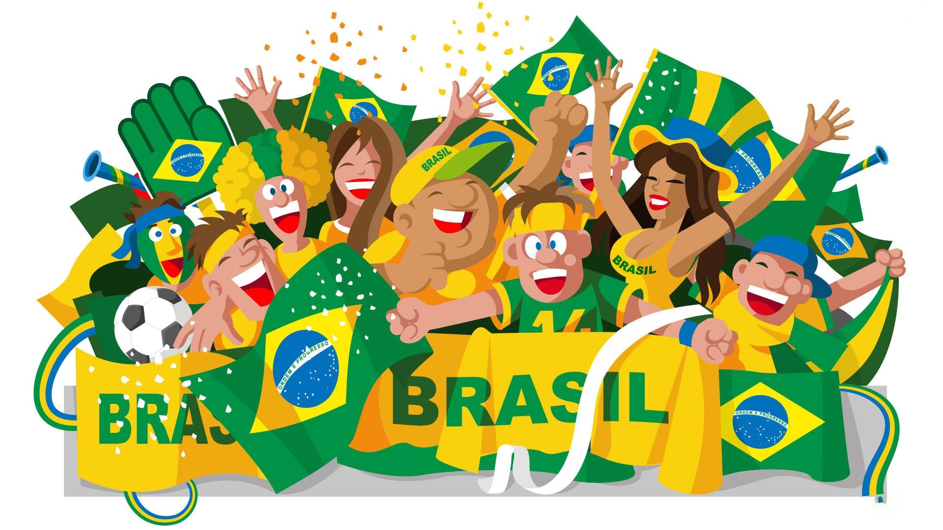 Brésil 2014 : 10 fonds d'écran pour la Coupe du Monde.