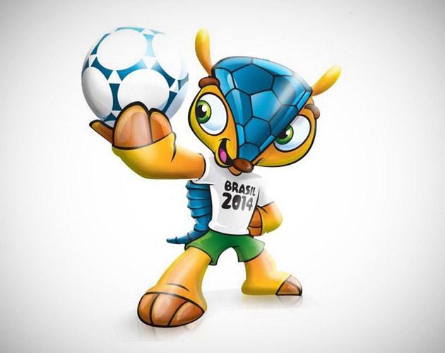 Découvrez la prochaine mascotte de la Coupe du monde 2014.