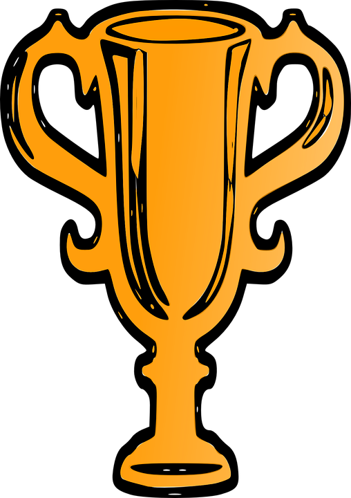 Image vectorielle gratuite: Coupe, Vainqueur De La, Or, Trophée.