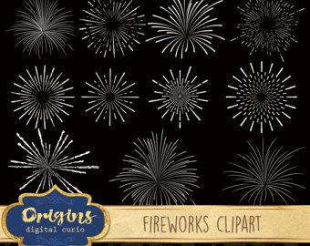 Fireworks clipart.