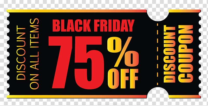 Coupon Computer Icons , black friday transparent background.