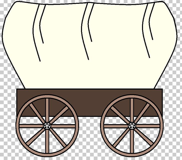 The Oregon Trail American Frontier Covered Wagon PNG.