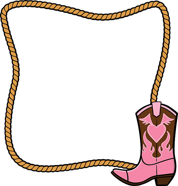 Best Cowgirl Boots Illustrations, Royalty.