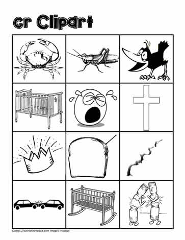 Clipart for cr Worksheets.