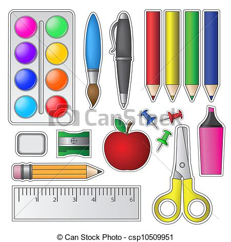 Craft supplies clipart 2 » Clipart Station.