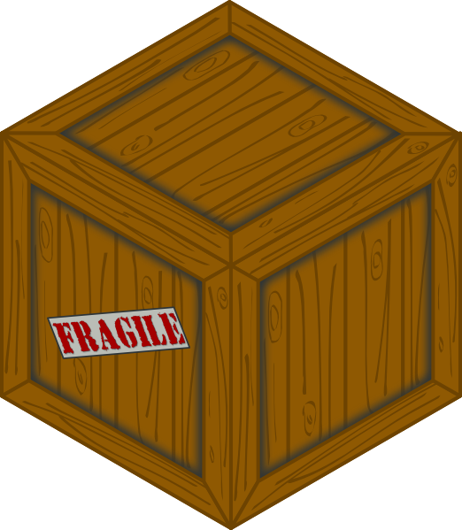 Isometric Wooden Crate Clip Art at Clker.com.
