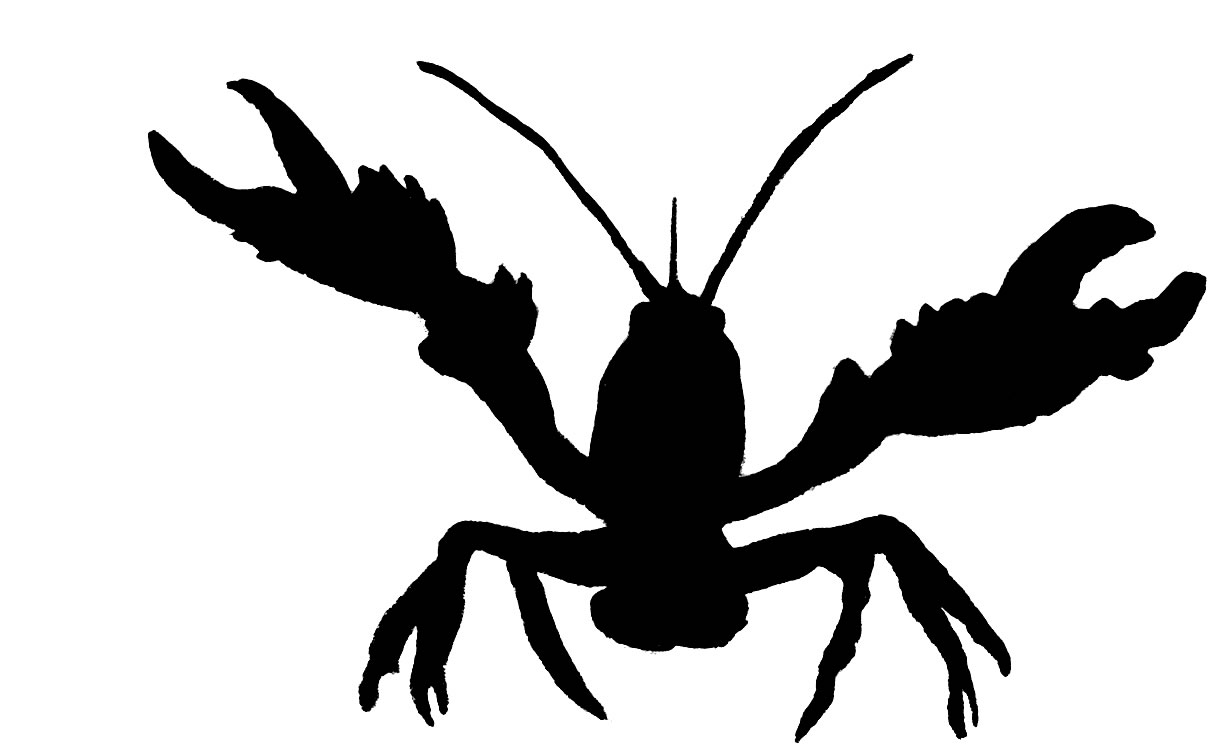 Free Crawfish Clip Art Black And White, Download Free Clip.